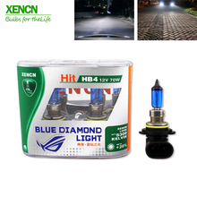 Buy XENCN HB4 9006 12V 70W 5300K Blue Diamond Light Car Bulbs Xenon Look Super White Fog Halogen Lamp bmw e36 for $29.89 in AliExpress store