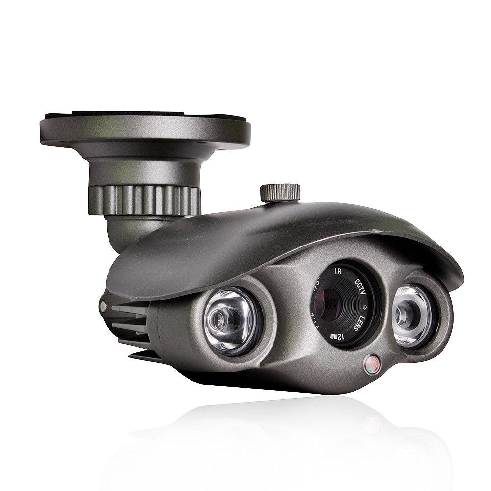 Outdoor 2 Array IR 42mil Night Vision IP66 Waterproof Bullet CCTV Camera 1200TVL(China (Mainland))