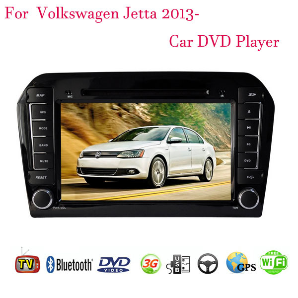 1024*600 Android 4.4.4 Fit Volkswagen VW Jetta 2013 2014 2015 Car DVD Player GPS TV 3G Radio(China (Mainland))