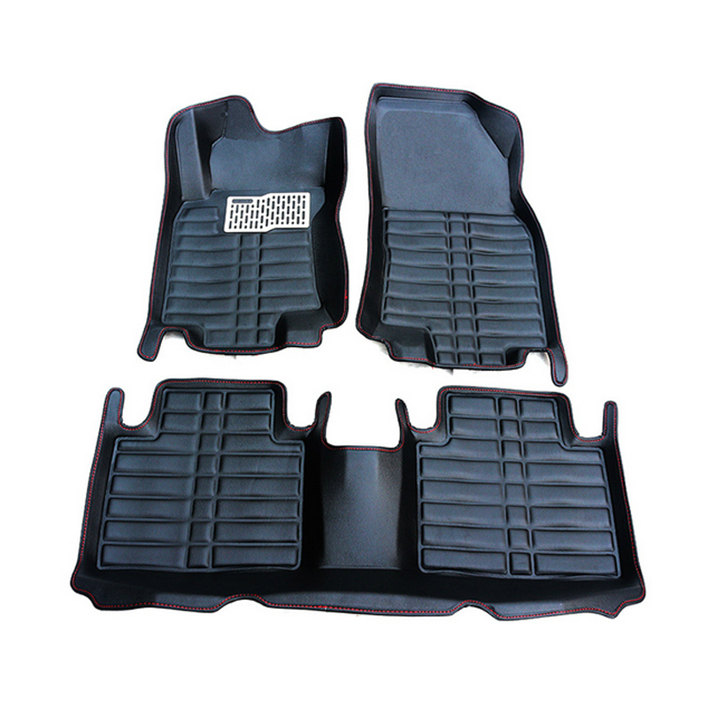 Black PU leather  front rear floor mats paded Pad cover for Nissan Rogue x-trail 2014 2015<br><br>Aliexpress