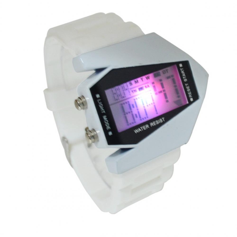 Hot Sale Watch Led watch Bomber Flashlight LED+12/24Hrs Military Force Sport Digital Calendar Cuff Watch Relojes digital unisex(China (Mainland))