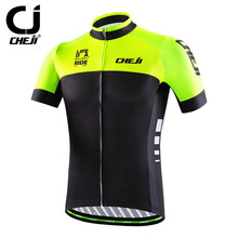 Buy Cycling Jersey 2016 Cheji Racing Sport Bike Jersey Tops mtb Bicycle Cycling Clothing Ropa Ciclismo Summer Cycling Wear Clothes for $18.89 in AliExpress store