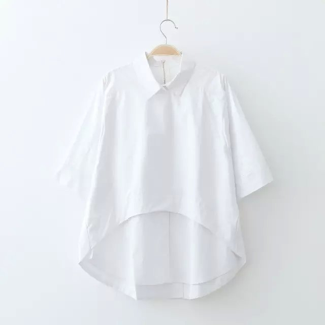 Summer Cotton Blouses Long Blouse With Pants