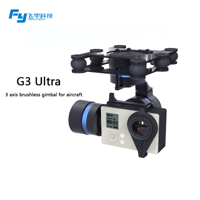 New products FY-G3 Ultra 3 Axis Brushless Gimbal( for aircraft ) for Gopro 3 /3+ /Gropro 4 / FY-G3 Ultra 3 Axis Brushless Gimbal
