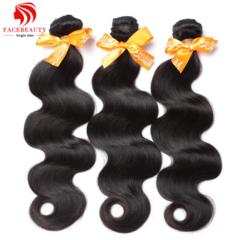 Malaysian Virgin Hair Body Wave 100% Human Hair Weave Wavy 3Pcs Lot 7A Unprocessed FaceBeauty Hair Products Malaysian Body Wave(China (Mainland))