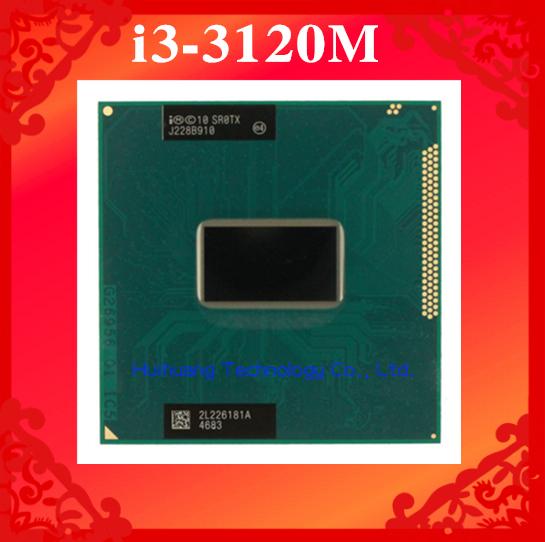 Фотография Lifetime warranty Core i3 3120M 2.4GHz 3M SR0TX Dual Core Four threads 3120 Notebook processors Laptop CPU PGA 988 pin Socket G2