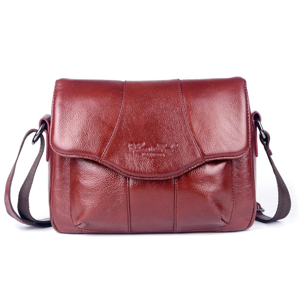 Model Leather Vintage Messenger Bag Motorcycle Crossbody Bags Women Bag
