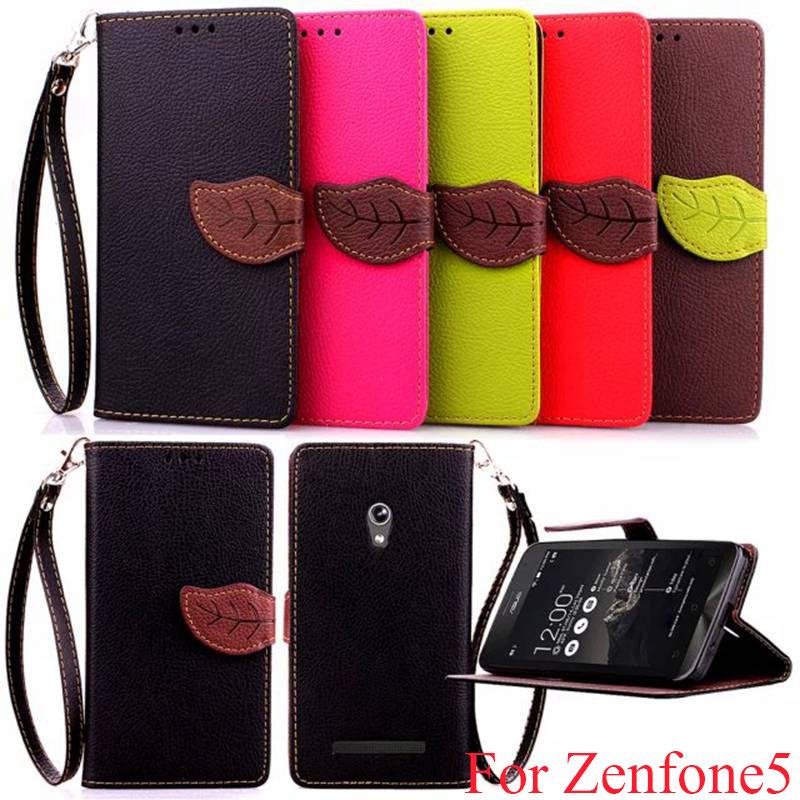 Гаджет  Newest Colorful Slim Flip Leather Case For ASUS Zenfone 5 Wallet Photo Card Holders & Stand Cover Bag Capa For ASUS Zenfone5  None Телефоны и Телекоммуникации