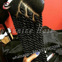 Full-Size CROCHET BRAID Black Braiding Hair Extensions For Sale,Havana Mambo Twisted Hair For Beautiful Women Free Shipping
