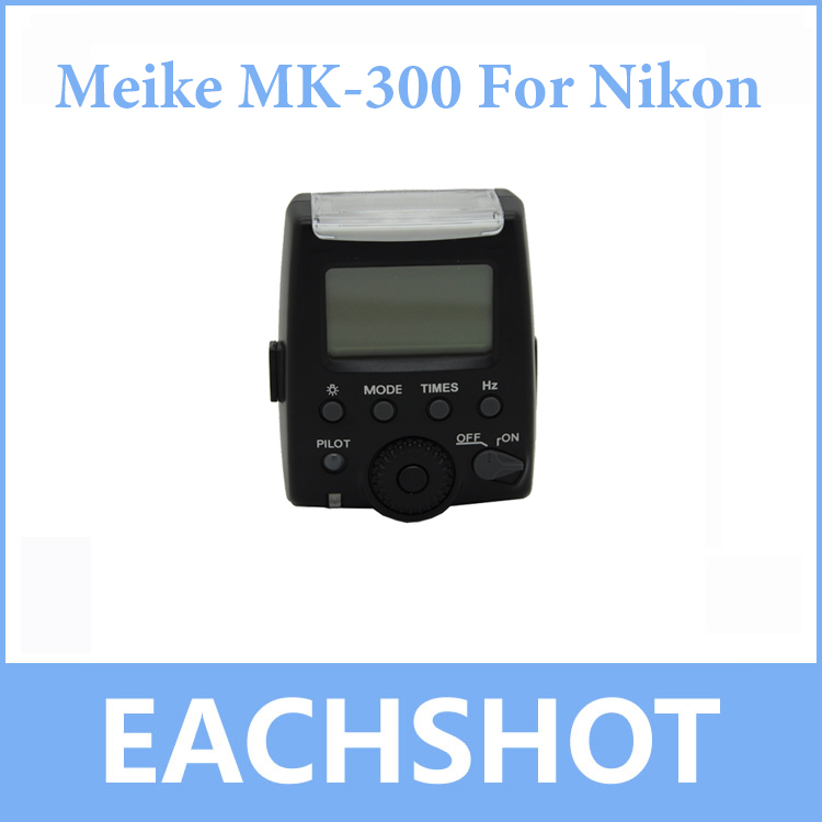 Meike MK-300 MK300 LCD i-TTL TTL Speedlite Flash Light For Nikon