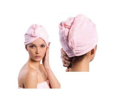 Free FEDEX Shipping Ultra Absorbent Microfiber Hair Quick Drying Turban Wholesale Dropship(China (Mainland))