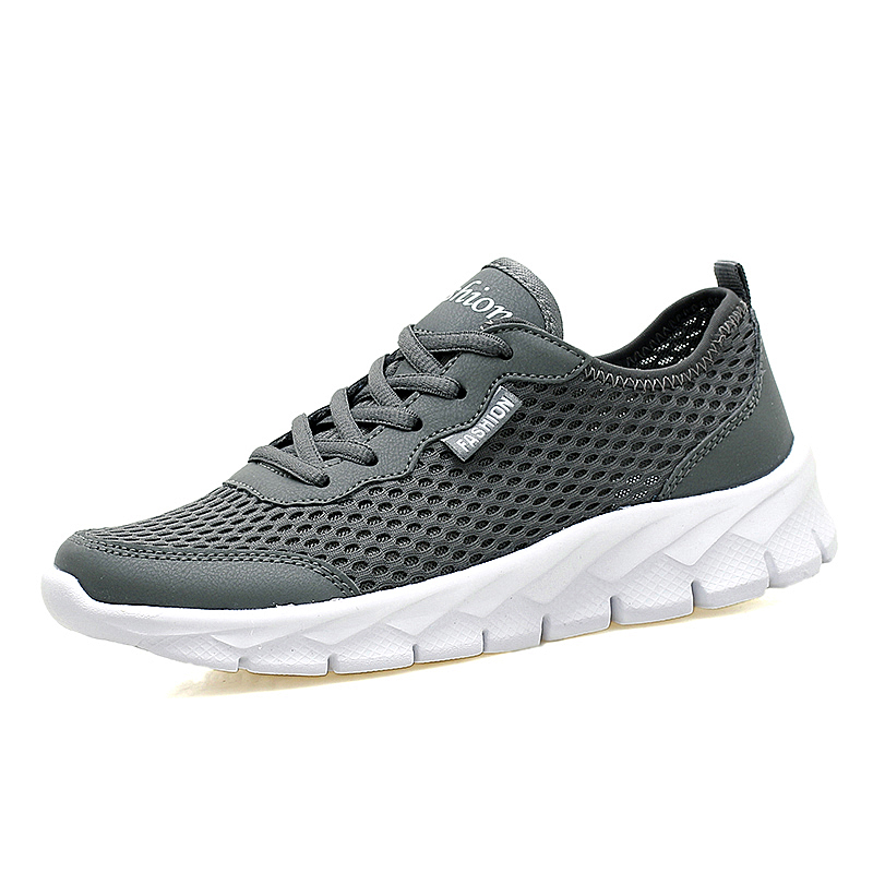 Men Summer Running Shoes Women Sneaker Mesh Outdoor Sport Shoes Male Wear-resistant Athletic Trainers Running Sport Shoes 35-48(China (Mainland))