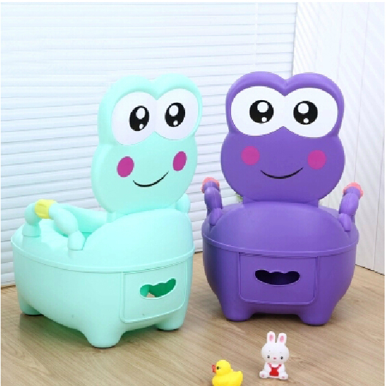 frog shape 0 6 year infant potty portable baby potty plastic baby toilet