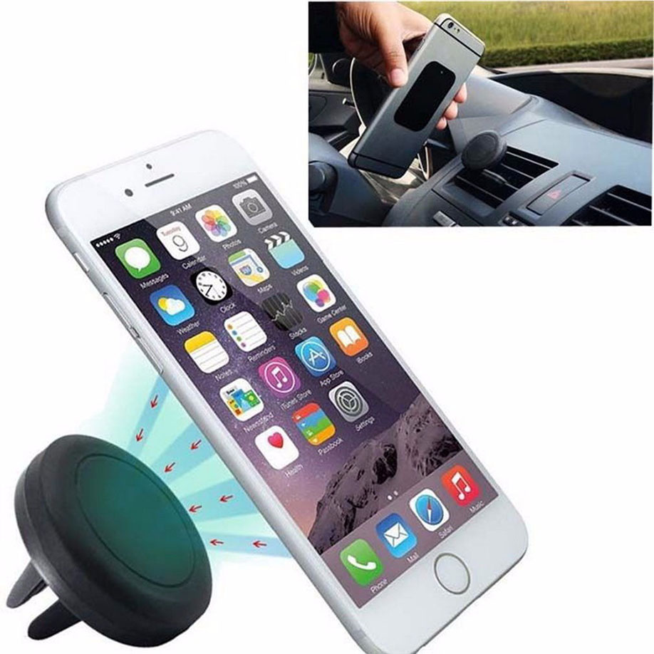 360 Degree Universal Car Holder Magnetic Air Vent Mount Smartphone Dock Mobile Phone Holder Cell Phone Holder Stands For iPhone(China (Mainland))