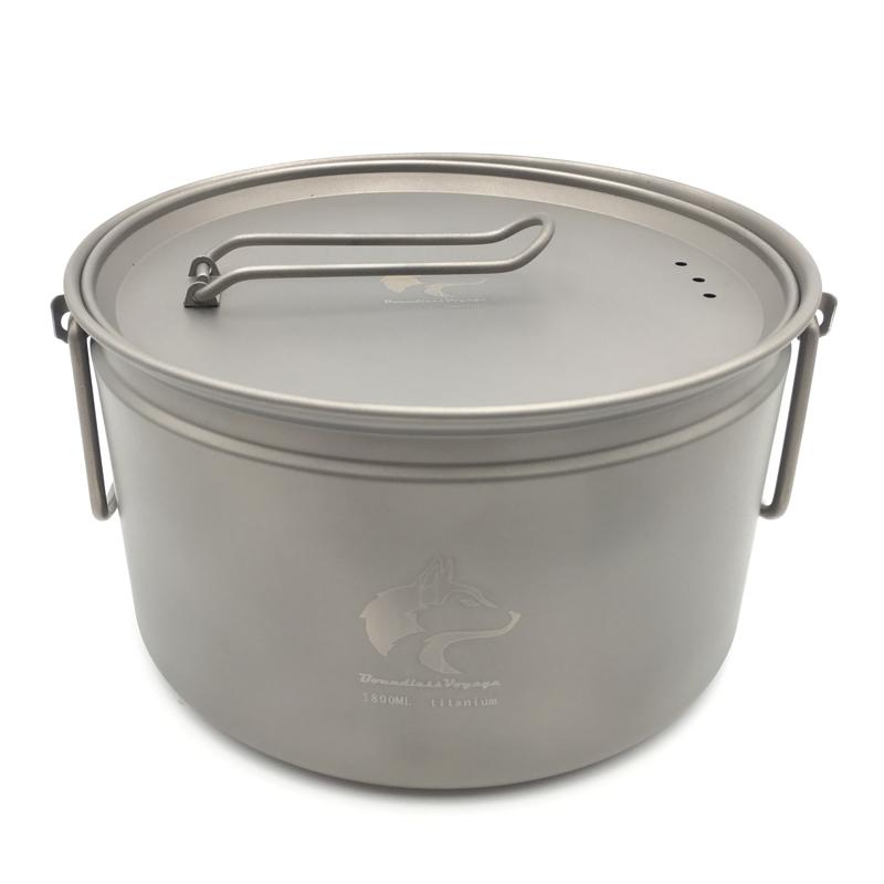 Promoci n de ollas livianas compra ollas livianas - Utensilios de cocina de titanio ...