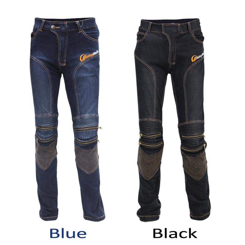Men Cowboy Motorcycle Pants KTM Motocross Pantalon Moto Komine  Jeans Trousers Motorcycle Riding Pants Uglybros Jean Plus HP-05