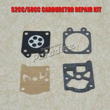 MP16 52CC 5200 58CC 5800 Chinese Chainsaw Carburetor with Chainsaw Repair Kits