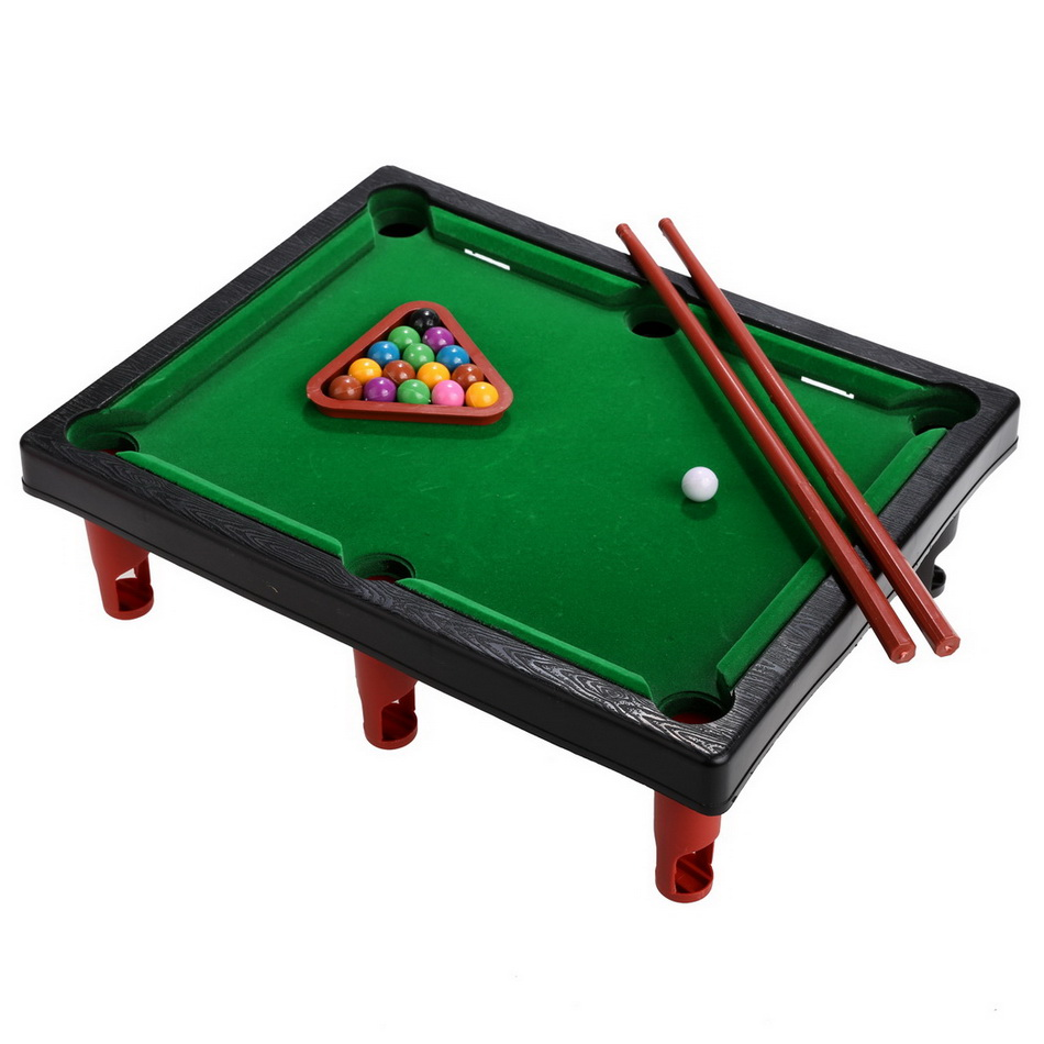 Arshiner Kids Education Toy Mini Pool Table With Cues, Tripod, Balls, Best  Sports