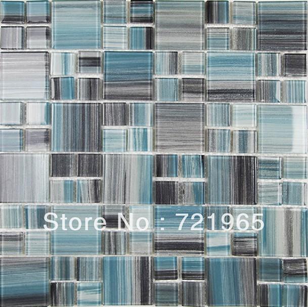 Glass Mosaic For Swimming Pool Tile Cgmt098 Deco Mesh Glass Mosaic Kitchen Backsplash Tile