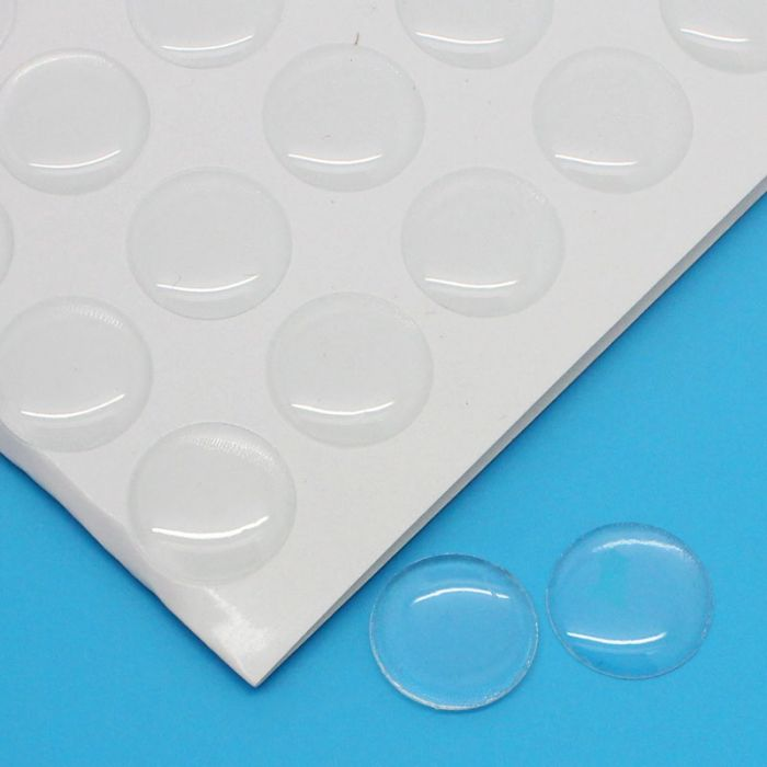Resin Sticker Cobochons Epoxy Domes Round Clear 14mm Dia,1 Sheet(approx 140 PCs) Mr.Jewelry(China (Mainland))