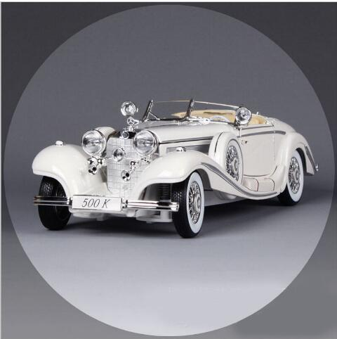 1:18 Scale original Maisto luxury 1936 500k vintage car jalopy metal diecast auto machine collectible model cars gift crafts toy(China (Mainland))
