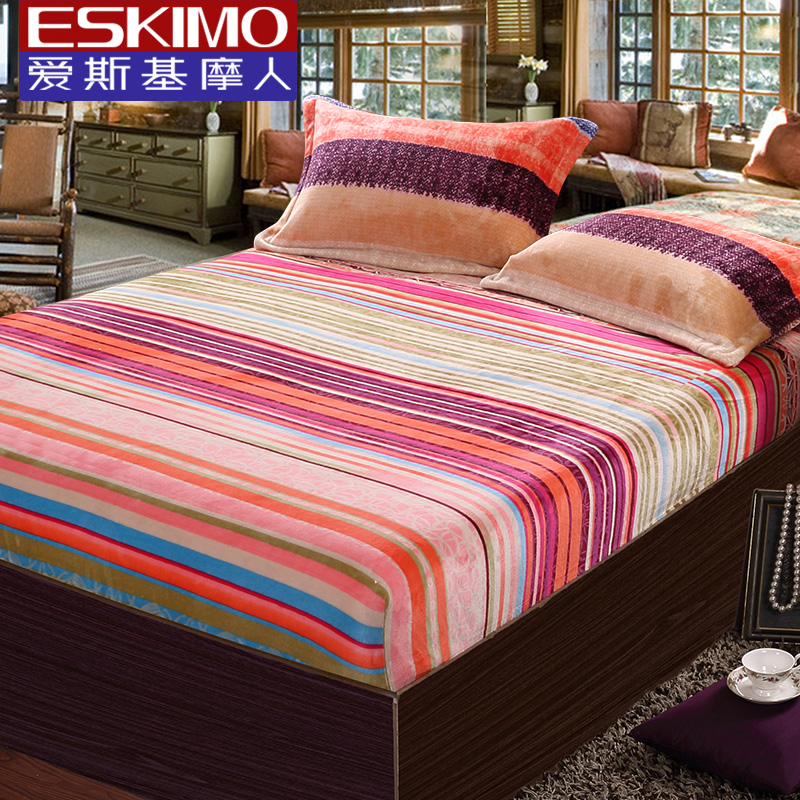 eskimo bed fitted sheet set double bed linen brand twin. Black Bedroom Furniture Sets. Home Design Ideas