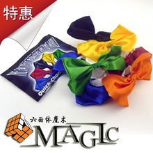 quick change Bow tie - professional stage magic trick product - wholesale - free shipping(China (Mainland))