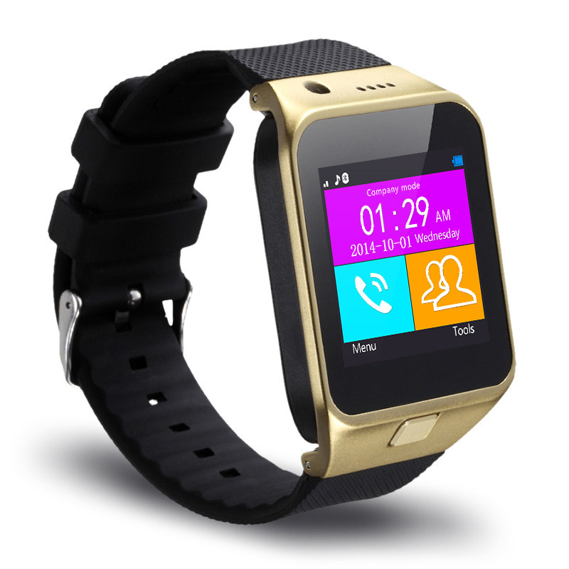 "Fashion smart bluetooth watch 1.55"" 1.3 camra TF and SIM card slot smart phone watch For android mobile cell phone For samsung(China (Mainland))"