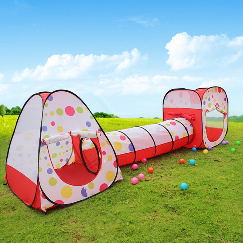 Child gift large child tent with tunnel tube three-in-one game house baby & Online Get Cheap Fire Tents -Aliexpress.com | Alibaba Group