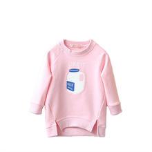 Spring Autumn Children's Sweater Girls Cardigan Kids O Neck Sweaters Girls Pullovers