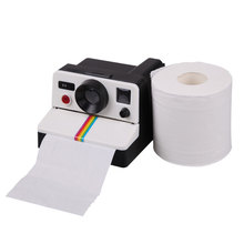 New Creative Retro Cute Camera Shaped Roll Tissue Holder Box Toilet Paper Cover Free Shipping ARE4(China (Mainland))