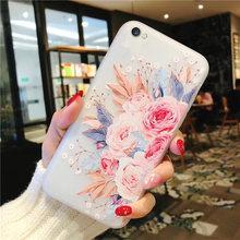 3D цветок чехол для телефона для samsung A50 A10 A20 A20E A40 A60 A70 M40 противоударный чехол для samsung S10E S10 плюс S10 E силиконовый чехол(China)