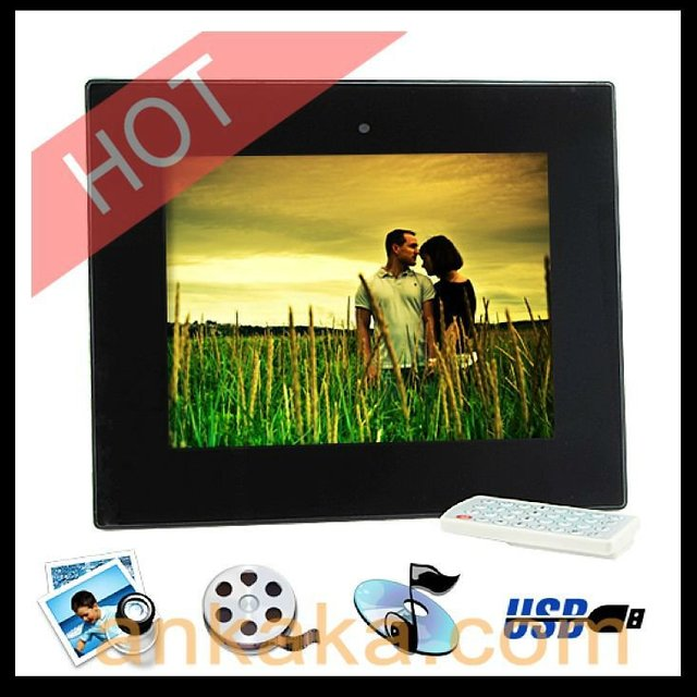 10.4 Inch Digital Photo Frame with Remote + Media Player (2GB) - AVI, DIVX & XVID Direct Play