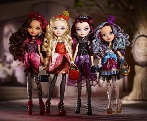 4 pcs/lot Monster Toys Dolls / High Quality Toy Gift for girls Classic Toys / Hot Selling Action Figure for monster highs(China (Mainland))