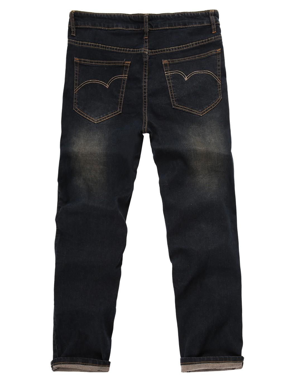 2016 Direct Selling Zipper Fly Softener Solid New Men Denim Jeans Mid Waist Zip Fly Full Length 5 Pockets Regular Fit Pants