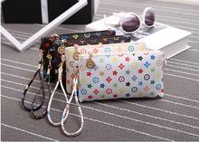Hot sale 2016 the new mini handbag shoulder bag flowers and stars pattern bag 19*11cm beautiful light PU flap A015