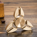 Supology 5 Colors Anti Stress Wheel Tri-Spinner Fidget Toy Plastic EDC Hand Spinner For Autism and ADHD Tri Spinner For Kids
