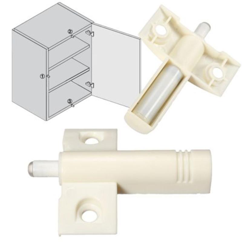 10pcs white door cabinet cupboard quiet damper buffer soft