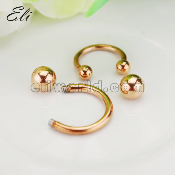 Rose Gold Body Jewelry Gold Fashion Body Jewelry