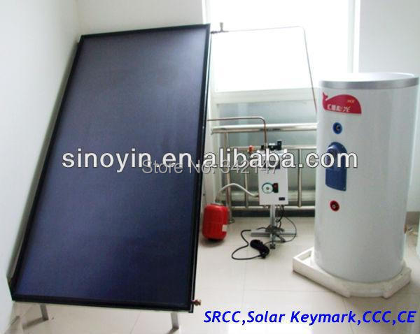 flat plate solar collector and solar water heater system (Solar Keymark,EN12975,CE,ISO,SGS,CCC,EN12976,BID,SRCC)(China (Mainland))