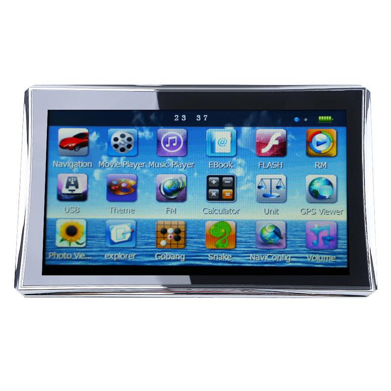 "New 7"" inch HD TouchScreen TFT Car GPS Navigation Navigator 128MB RAM 4GB+ Free Maps(China (Mainland))"