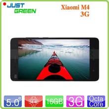 Original Xiaomi MI4 Quad Core Smartphone 5″ Snapdragon 801 1920X1080 3GB RAM 16GB ROM 8MP+13MP Dual Camera GPS 3G WCDMA MIUI V5