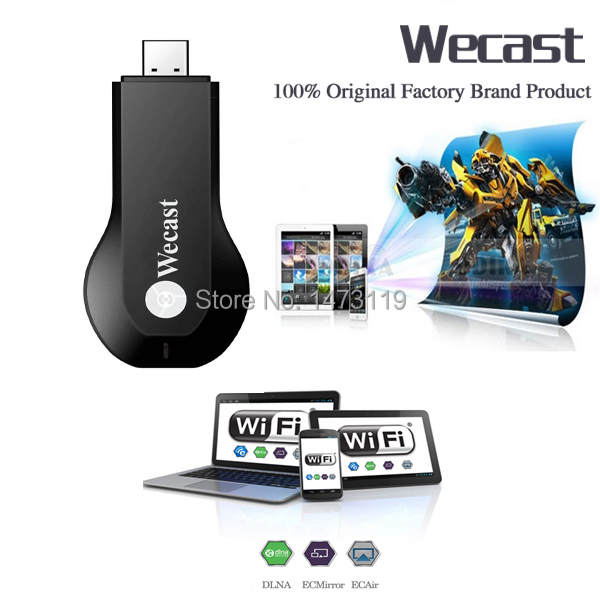 C2 wecast Miracast adapter Dongle mirror cast android mini pc tv stick airplay dlna wireless hdmi as good as ezcast chrome cast(China (Mainland))