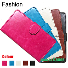 Buy Top Selling 5 colors Fashion 360 Rotation Ultra Thin Flip PU Leather Phone Cases HomTom HT37 for $3.98 in AliExpress store