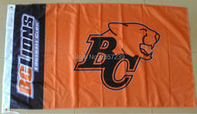 Buy BC Lions Flag 3x5FT CFL banner 100D 150X90CM Polyester brass grommets custom66,free shipping for $6.15 in AliExpress store