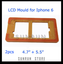 """2pcs=4.7"""" + 5.5"""" LCD Screen Fix Mould, Glass Change Holder LCD Mould for Iphone 6(China (Mainland))"""