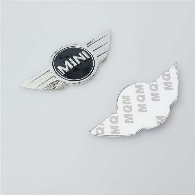 20Pcs/lot Mini COOPER S BADGE Emblem F56 R50 R56 R53 R52 REAR Car Styling Auto Accessories(China (Mainland))