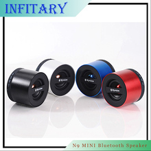 New Arrival Mini Portable Bluetooth Stereo Speaker Woofer Aluminum Music Player Loudspeaker Support TF Card For Mobile Phone N9(China (Mainland))