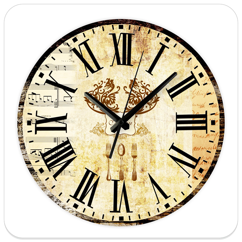 12 39 39 Silent Kitchen Wall Clocks Modern Design Fashion Home
