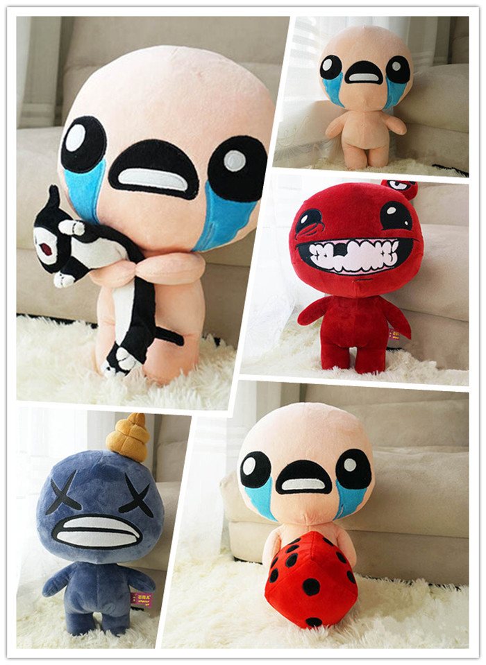 35CM The Binding Of Isaac Super Meat Dead Cat Plush Toys PP Cotton Creative Novelty Quality Gift Free Shipping(China (Mainland))